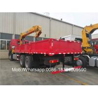 Wholesale 12m Lifting 10 Ton Mobile Telescopic Boom Crane / Tractor Hydraulic Crane SQ10SK3Q from china suppliers