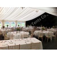 Wholesale Ultraviolet Light Resistant Outdoor Party Tents For Rent , Outside luxury tent from china suppliers