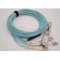 Wholesale 1m 40G QSFP+ Optical Transceiver to 4 Duplex  LC Breakout Active Optical Cable from china suppliers