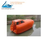 Wholesale MED Certificate 21 People Free Fall Lifeboat and Rescue Boat 6 Persons For Sale from china suppliers