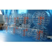 Quality PVC / TPU Outdoor Inflatable Toys / Bubble Ball Soccer Suit for Party or Event for sale