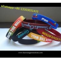 Hot Selling promotion Colorful fashion custom silicone wristband,silicone wristbands for sale