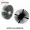 6061T6 6063 T5 Aluminum heat sink manufacturer/perfil de aluminio para el for sale