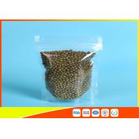 Clear Stand Up Zipper Pouch