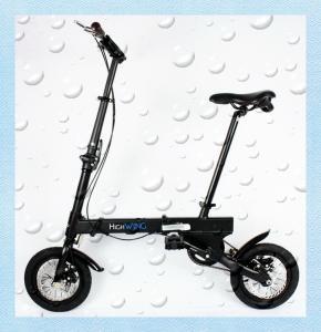 Economical 2 Wheels Mini Foldable Bicycle / Citizen Folding Bike Alloy Frame