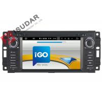 6.2 Inch Car Dvd Player GPS Navigation , Android Auto Head Unit For JEEP / Chrysler / Dodge