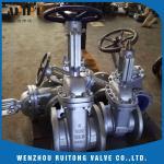 China API 6D 150LB 300lb cast steel wcb flange gate valve for industry for sale