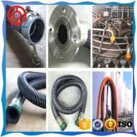 Wholesale Big diameter 2 spiral steel wire reinforced  layer PVC chemical composite hose for marine fuel delivery from china suppliers