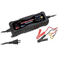 Quality 12V / 24V Portable Car Battery Chargers , 3A / 6A mobile Smart Battery Charger for sale