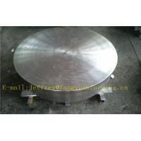 Wholesale P355QH EN10273 Carbon Steel Forged Disc  PED  Export To Europe 3.1 Certificate Pressure Vessel Blank Flange from china suppliers