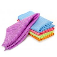Wholesale microfiber glass cleaning towel household clean cloths from china suppliers