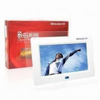 Wholesale 7-inch Digital Photo Frames with 480 x 234 pixels Resolution from china suppliers