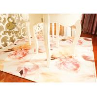 Wholesale Modern Indoor Area Rugs With Anti - Slip Non Woven Backing Eco-friendly from china suppliers