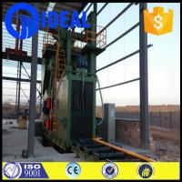 Buy cheap heavy duty eco-friendly shot blasting machine with three stage filter from wholesalers