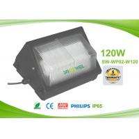 Wholesale 120 w AC90 to 295V LED Wall Pack Lights , 120lm / w wall pack lighting fixtures exterior from china suppliers