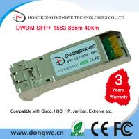 Wholesale Fiber Optic Module Transceiver DWDM SFP+ Cisco compatible from china suppliers
