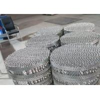 China 500X Metal Structured Packing Round Shape 650 - 100mm Tower Packing Layer on sale