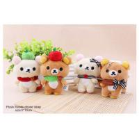 Wholesale Plush Rilakkuma Mobile Phone Strap from china suppliers