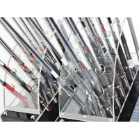 Wholesale 12 clubs 2 row acrylic clear golf club display stand from china suppliers