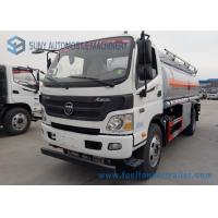 Wholesale Foton Oil Tank Truck 4*2 Fuel Tank Truck 138 HP carbon steel Tanker Truck from china suppliers