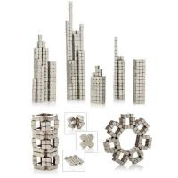 Kellin Neodymium Magnets Toy Puzzle Building Blocks for Office School Home DIY Desktop Decoration, 216 PCS Games Square