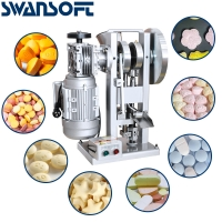 China SWANSOFT TDP-3  Single Punch Tablet Press Machine  Pill Press Tablet Press Machine Factory Sales on sale