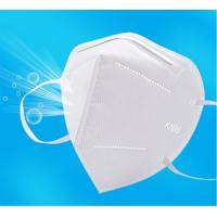 Wholesale GB2626-2006 Approved KN95 Disposable Folding Non-Valve 5 Layer Auti-dust Non-woven Mask KN95 Protective Mask KN95 Dust from china suppliers