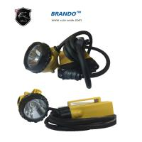 Wholesale KL12LM Yellow ABS Body 3w Main Power Environmental Corded Mining Headlamp Super Bright from china suppliers