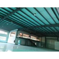 China Epoxy Coating Floor Prefab Steel Structure Workshop With Inside Office Buildings for sale