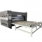 China Chain Feeder Flexo 2 Color Printer Slotter Machine For Carton Box Making for sale