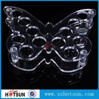 Wholesale Acrylic Wine Glass Tray Holder/ acrylic shot glass tray,acrylic shot glass holder tray from china suppliers