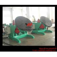 Wholesale 5 Ton High Speed Auto Rotary Pipe Welding Turning Table Heavy Duty For Tank / Pipe / Vessel from china suppliers