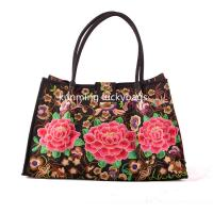 China National trend hmong embroidery handbag chinese fashion ladies handbags on sale