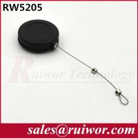 Wholesale 0.45 Mm Diameter 0.15LB Retractable Steel Cable With Adjustable Lasso End from china suppliers