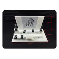 Wholesale White Counter Cabinet Watch Storage Box Acrylic Showcase Display Stand Holder from china suppliers