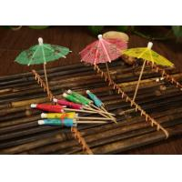 Wholesale 100% Bamboo Decorative Mini Toothpick Skewers For Cocktail / Kabob / BBQ from china suppliers