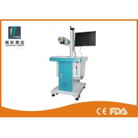 Wholesale Desk Lifting Type Small Laser Marking Machine , Qr Code Laser Engraver With Galvo Scanner from china suppliers