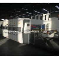 Buy cheap High Speed Lead edge feeder Three colors Printer Die cutter machine from wholesalers