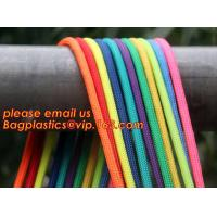 Wholesale Best quality Green amusement equipment polyester rope 5mm nylon braided rope from china suppliers