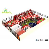 Wholesale Colorful Theme Indoor Adventure Playground Soft / Safe For 3 - 15 Years Old from china suppliers