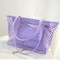 Wholesale transparent PVC beach bag from china suppliers
