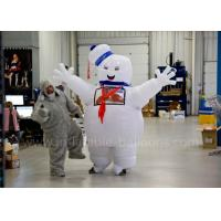 Wholesale Funny Inflatable Man Costume Inflatable Stay Puft Marshmallow Man Costume With Blower from china suppliers