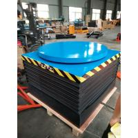 China Small Electric Stationary Hydraulic Lift Table With Rotating Platform CE on sale