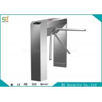 Quality Stainless Steel Waist Height Turnstiles Bi-directional Pedestrian Gate for sale