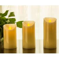 """Wholesale Flickering Candle Real Wax Flameless LED Candles with Dancing Flame 3"""" 4"""" 5"""" from china suppliers"""