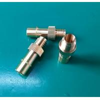 Wholesale Tailor Made RF Connector Precision Brass Turned Parts / Aerospace Components from china suppliers