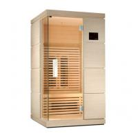 China 220v Home Infrared Sauna Room with Ceramic Heater, Touch Control Panel on sale