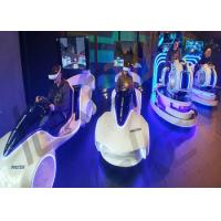 Quality Shopping Malls 9D VR Driving Simulator , Cool Appearance Car VR Motion Simulator for sale