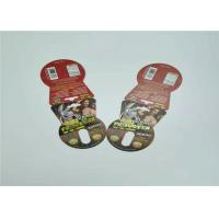 China 7000K Buffalo Paper Blister Card Packaging Red Foil Stamping Offset Printing for sale