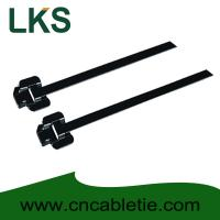 Wholesale LKS-150M PPA Coated Releasable Stainless Steel Cable Ties from china suppliers